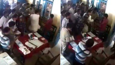 त्रिपुरा कांग्रेस अध्यक्ष ने पुलिस स्टेशन में शख्स को मारा थप्पड़, काफिले पर किया था हमला, देखें- VIDEO