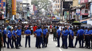 श्रीलंका सीरियल ब्लास्ट: देश में हुए के लगातार विस्फोट के बाद सरकार ने फिर कर्फ्यू का दिया आदेश