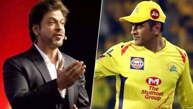IPL 2019: चेन्नई सुपर किंग्स की जीत के बाद साक्षी, शाहरुख, और कप्तान धोनी की ये तस्वीर सोशल मीडिया पर जमकर हो रही है वायरल