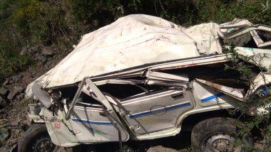 हिमाचल प्रदेश: मंडी में खाई में गिरी जीप, 5 लोगों की मौत और 5 गंभीर रूप से घायल