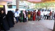 तेलंगाना: हुजूरनगर उपचुनाव के पहले चार घंटे में 30 फीसदी से अधिक मतदान दर्ज