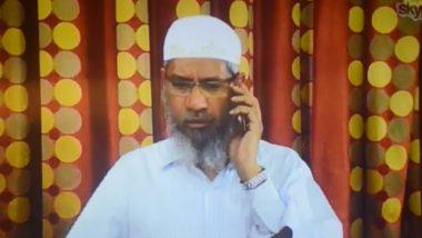 भगोड़े इस्लामिक उपदेशक जाकिर नाईक ने अपने ऊपर लगाए गए आरोपों के लिए प्रवर्तन निदेशालय की निंदा की