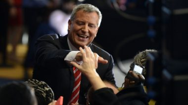 न्यूयॉर्क के मेयर डी ब्लासियो 2020 राष्ट्रपति चुनाव की दावेदारी की करेंगे घोषणा
