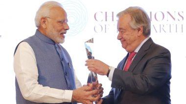 संयुक्त राष्ट्र प्रमुख एंटोनियो गुटेरेस एक बार फिर पीएम मोदी के साथ कार्य करने को उत्सुक