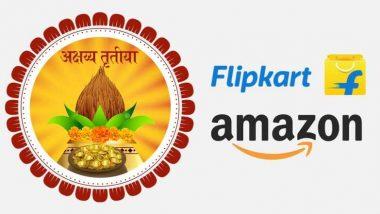 Akshaya Tritiya 2019 Bumper Offers On Amazon & Flipkart: अक्षय तृतीया पर करना चाहते हैं शॉपिंग तो अमेजन और फ्लिपकार्ट के इन धमाकेदार ऑफर्स का जरूर उठाएं लाभ