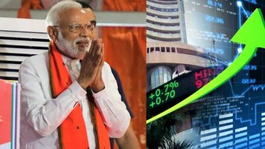 मोदी सरकार की दूसरी पारी पर झूमा शेयर बाजार, रिकॉर्ड तोड़ बढ़त के साथ पहुंचा 40 हजार के पार