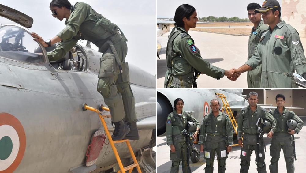 भावना कंठ बनीं पहली IAF पायलट, लड़ाकू विमान से युद्ध पर जाने की योग्यता की हासिल
