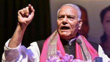 जम्मू-कश्मीर: यशवंत सिन्हा को मिली जाने की इजाजत, फारूक अब्दुल्ला सहित बाकि नजरबंद नेताओं से कर सकते हैं मुलाकात