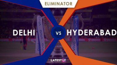 SRH vs DC, IPL 2019 Live Cricket Score: यहां देखें SRH vs DC के क्वालीफायर मैच का लाइव क्रिकेट स्कोर