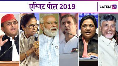 Lok Sabha Elections 2019 News 24-Chanakya Exit Poll LIVE