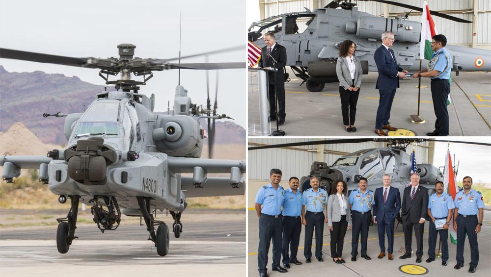 एयरफोर्स को मिला पहला Apache Guardian: लादेन किलर के नाम से है मशहूर, एक साथ 13 टारगेट को कर सकता है विध्वंस, पाक-चीन सीमा पर होगी तैनाती