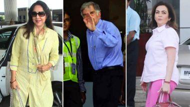नरेंद्र मोदी शपथ ग्रहण: हेमा मालिनी-नीता अंबानी, रतन टाटा सहित कंगना दिल्ली पहुंचे