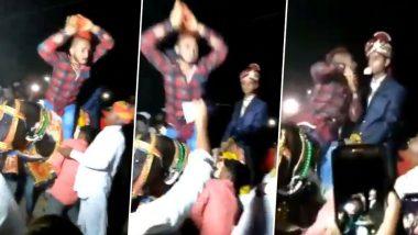 दूल्हे की घोड़ी पर चढ़कर इस शख्स ने किया नागिन डांस, सोशल मीडिया पर वीडियो हुआ वायरल, देखें Video