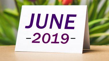June 2019 Calendar: मासिक शिवरात्रि से हो रही है जून महीने की शुरुआत, देखें इस माह पड़ने वाले खास व्रतों और त्योहारों की पूरी लिस्ट