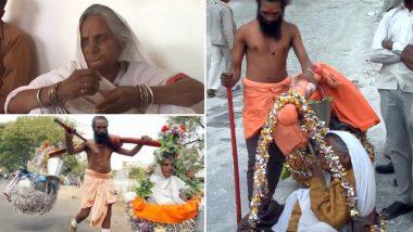 जबलपुर: ये है कलयुग का श्रवण कुमार, अंधी मां को उठाकर कराई चार धाम की यात्रा,  37,000 किलोमीटर चल चुके हैं पैदल, देखें वीडियो