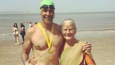 मिलिंद सोमन की मां 80 साल की उम्र में करती हैं पुश-अप्स, देखें VIDEO
