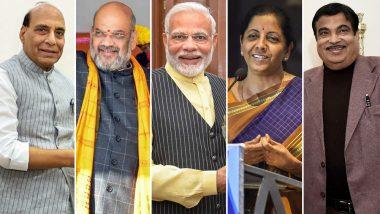 Modi Cabinet 2.0: अमित शाह को गृह, राजनाथ को रक्षा, निर्मला को वित्त, जयशंकर को विदेश मंत्रालय का जिम्मा, देखें पूरी लिस्ट