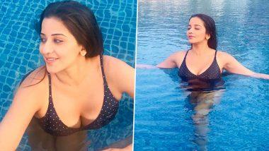 भोजपुरी स्टार मोनालिसा ने बिकिनी पहनकर स्विमिंग पूल में लगाई आग, देखें हॉट Photos