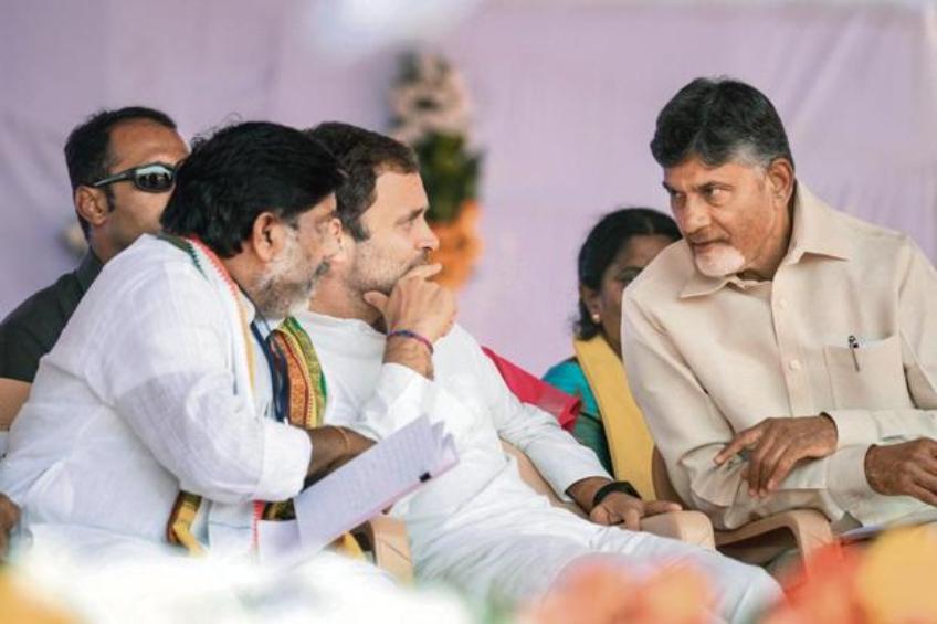 लोकसभा चुनाव 2019: नतीजों से पहले विपक्षी खेमे में मंथन, राहुल गांधी- मायावती और अखिलेश से मिलेंगे चंद्रबाबू नायडू