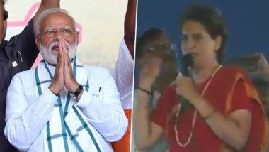 प्रियंका गांधी का प्रधानमंत्री पर बड़ा हमला, कहा-मोदी बड़े रक्षा विशेषक्ष, उन्होंने सोचा मौसम बादलों वाले हैं तो रडार पर नहीं आएंगे