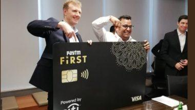Paytm ने लॉन्च किया First क्रेडिट कार्ड, अनलिमिटेड कैशबैक के साथ मिलेंगे खास ऑफर्स, ऐसे करें आवेदन