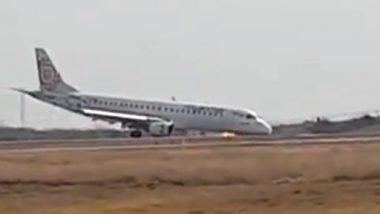 म्यांमार: नहीं खुला लैंडिंग गियर, पायलट ने ऐसे लैंड कर बचाई यात्रियों की जान, देखें Video