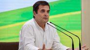 कांग्रेस नेता राहुल गांधी के नेतृत्व में विपक्षी प्रतिनिधिमंडल आज जाएगी कश्मीर, लोगों और पार्टी नेताओं से करेगी मुलाकात