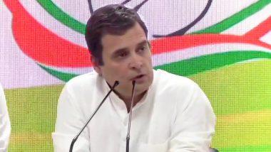कांग्रेस अध्यक्ष राहुल गांधी दो दिवसीय वायनाड दौरे पर, 7 जून को होंगे रवाना