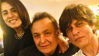 बीमार ऋषि कपूर से मिलने न्यूयॉर्क पहुंचे शाहरुख खान, नीतू सिंह ने सोशल मीडिया पर जताया प्यार