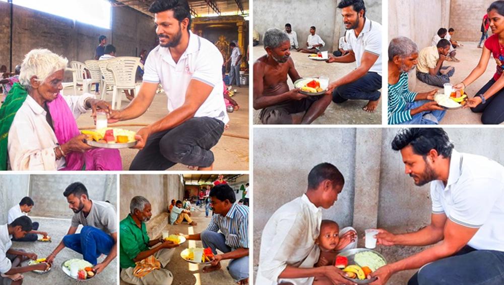 तेलंगाना: गौतम कुमार नाम के इस शख्स ने एक दिन में हजारों गरीबों को खिलाया खाना, वर्ल्ड रिकॉर्ड में नाम दर्ज