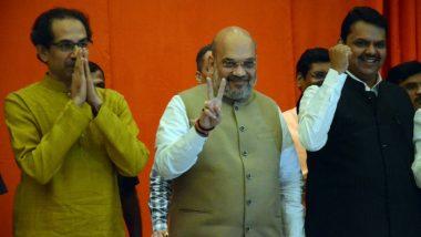 महाराष्ट्र विधानसभा चुनाव 2019: जीत को लेकर शिवसेना-बीजेपी को बड़ा  भरोसा, 220 से ज्यादा सीटें  मिलने की उम्मीद