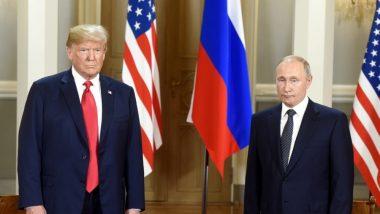 G-20 Summit: अमेरिकी राष्ट्रपति डोनाल्ड ट्रंप और रूस के प्रेसिडेंट व्लादिमीर पुतिन करेंगे मुलाकात