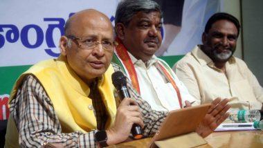 गुजरात की 2 राज्यसभा सीटों के लिए चुनाव एक ही दिन कराएं: अभिषेक मनु सिंघवी
