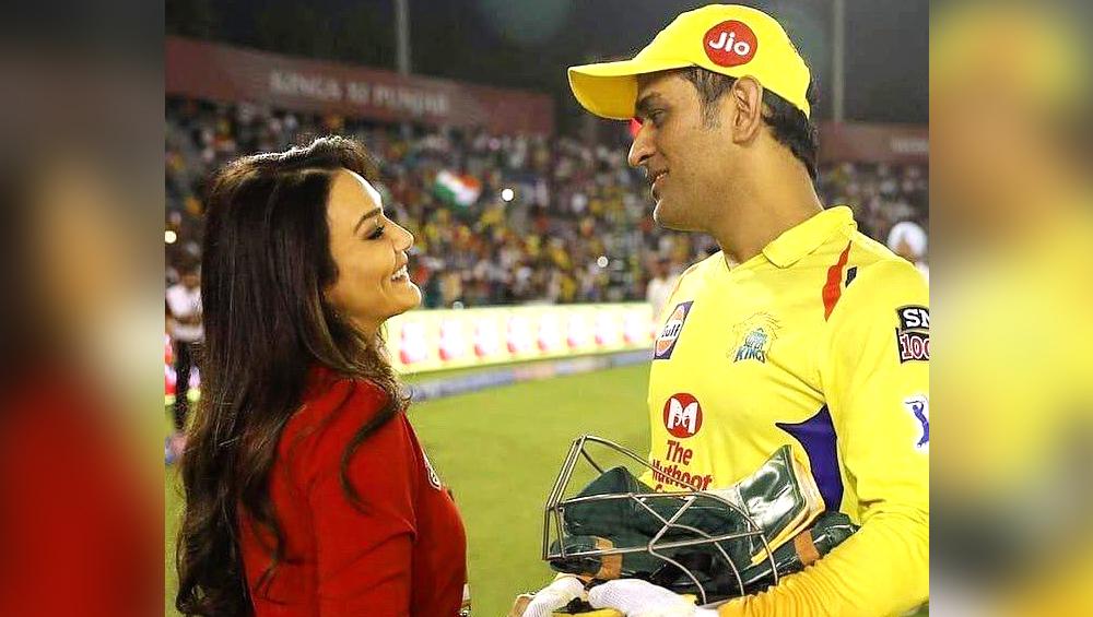 IPL 2019: प्रीति जिंटा ने एमएस धोनी को दी चेतावनी, कहा- मैं आपकी बेटी के साथ करूंगी ये काम, जानें वजह