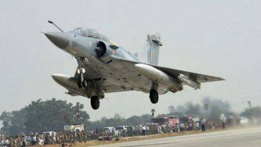 IAF ने पाकिस्तान से आ रहे एक कार्गों प्लेन को जयपुर एयरपोर्ट पर उतरवाया, देखें वीडियो