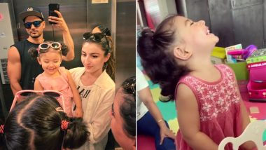 कुणाल खेमू के जन्मदिन पर बेटी इनाया ने दिया सबसे खूबसूरत तोहफा,क्यूट VIDEO देखकर फैंस भी हुए खुश