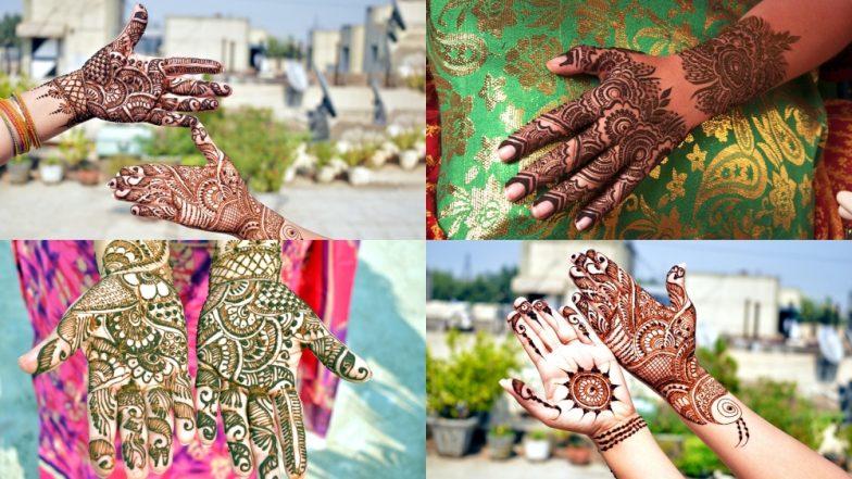 Eid Mubarak 2019: हाथों की खूबसूरती के साथ त्योहार की रौनक को दोगुना कर देती है मेंहदी, ईद के खास मौके पर ट्राई करें ये लेटेस्ट डिजाइन्स, देखें वीडियो
