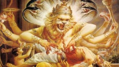 नृसिंह जयंती 2019: शत्रु पर विजय प्राप्ति के लिए करें भगवान नृसिंह की विधिवत पूजा