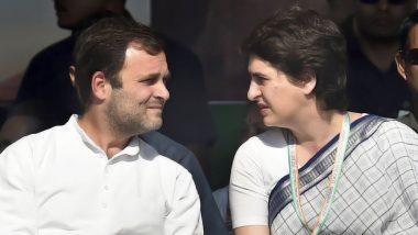 प्रियंका गांधी ने दिए संकेत, राहुल के वायनाड से जीतने पर अमेठी से लड़ सकती हैं उपचुनाव
