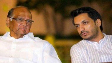 लोकसभा चुनाव परिणाम 2019: शरद पवार को बड़ा झटका, पोते पार्थ का मावल सीट से हारना तय