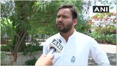 बिहार: मानसून सत्र के पांचवें दिन विधानसभा पहुंचे तेजस्वी यादव, इस्तीफे की खबर को बताया अफवाह