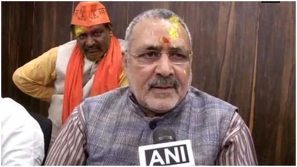 बिहार: RSS की जांच मामले पर BJP कार्यकर्ता ने ट्वीट कर कहा- गठबंधन तोड़े पार्टी, गिरिराज सिंह ने किया रिट्वीट तो JDU ने दिया ये जवाब