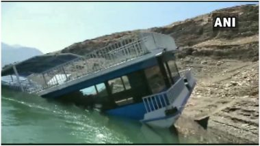 उत्तराखंड: टिहरी झील में बना 2.5 करोड़ का चलता-फिरता रेस्तरां 'मरीना' पानी में डूबा