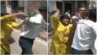 जमशेदपुर: खुद को एंटी-करप्शन ब्यूरो का अफसर बता रहे शख्स को महिला ने चप्पलों से पीटा, देखें Video