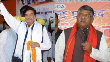 पटना साहिब लोकसभा सीट 2019 के चुनाव परिणाम: शत्रुघ्न सिन्हा को पछाड़ रविशंकर प्रसाद चल रहे आगे