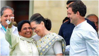 लोकसभा चुनाव 2019: बीजेपी के खिलाफ गठबंधन की कवायद तेज, मायावती कल कर सकती हैं सोनिया और राहुल गांधी से मुलाकात