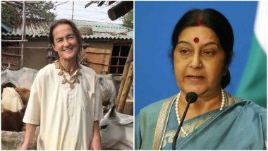 गौ सेवा कर रहीं पद्मश्री विजेता जर्मन नागरिक को वीजा देने से किया इनकार, सुषमा स्वराज ने मांगी रिपोर्ट