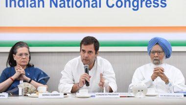 कांग्रेस द्वारा बुलाई गई विपक्षी दलों की बैठक रद्द, 'एक राष्ट्र-एक चुनाव' पर होनेवाली थी चर्चा