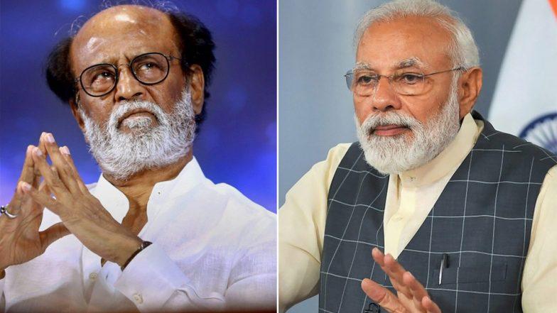 लोकसभा चुनाव 2019: रजनीकांत ने पीएम नरेंद्र मोदी को दी जीत की बधाई, किया ये स्पेशल ट्वीट
