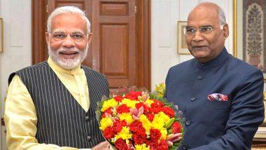 राष्ट्रपति राम नाथ कोविंद से मिलेंगे नरेंद्र मोदी, रात 8 बजे तक कर सकते हैं सरकार बनाने का दावा पेश